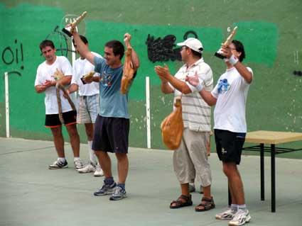 Iñigo y Mikel, nuevos campeones en el Torneo de Pala