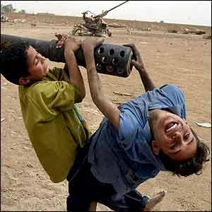 Corresponsal de guerra en Irak