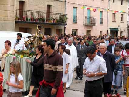 La Peregrina volvió para la procesión