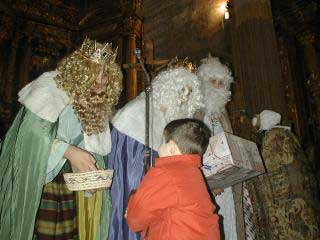 Los Reyes Magos repartieron regalos y buenos deseos
