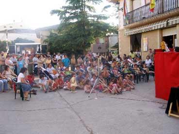 Animación en las fiestas de San Pedro y San Pablo
